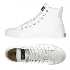Ethletic Sneaker vegan HiCut Collection 17 - Farbe just white / just white aus Bio-Baumwolle