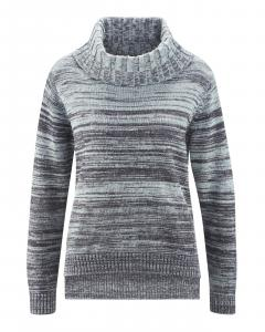 hanf long strickpullover damen