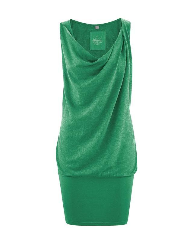 hempage hanf kleid leticia farbe smaragd aus hanf und bio baumwolle kaufen im hanfwaren shop. Black Bedroom Furniture Sets. Home Design Ideas
